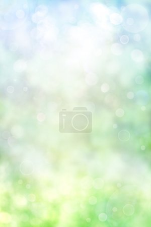 Photo for An abstract spring background with bokeh effects. - Royalty Free Image
