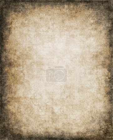 Photo for An old, vintage paper background with a subtle screen pattern and dark vignette. - Royalty Free Image
