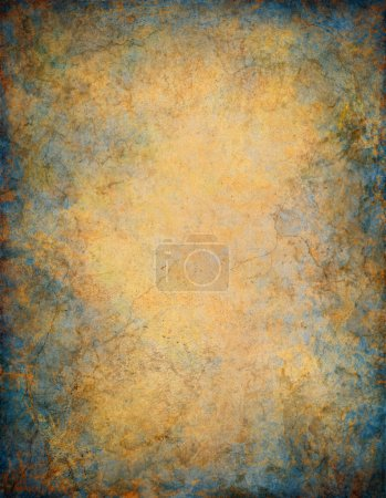 Photo for A vintage paper background with marbled grunge patterns and textures. - Royalty Free Image