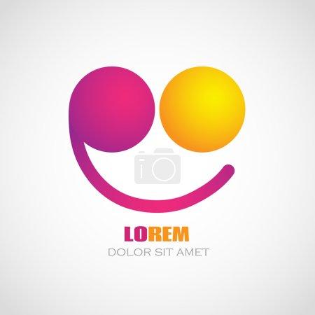 Color smile logo