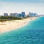 Aerial view of Fort Lauderdale Beachi n Ft. Lauder...