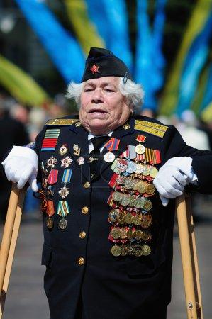 A woman veteran