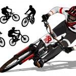 Mountain bike active...
