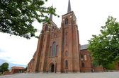 Fassade der Kathedrale von Roskilde in Dänemark