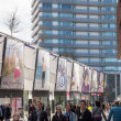 Постер, плакат: The modern city centre of Almere The Netherlands