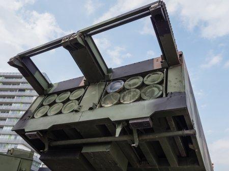 Lanzacohetes MLRS Militar