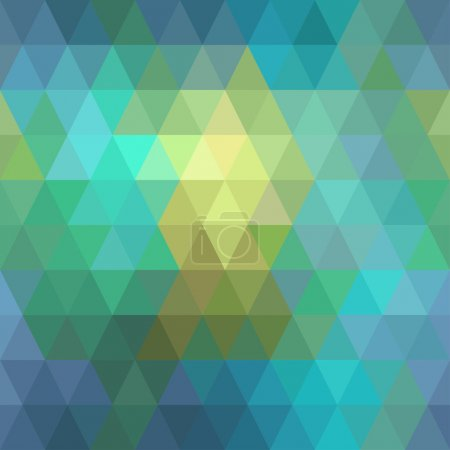 Seamless geometric background of triangles