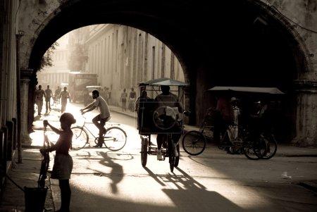 Photo pour Cuba, ancienne rue de la Havane - image libre de droit