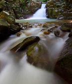 Waterfall in a rainforest at Sabah, Borneo, Malaysia
