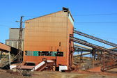Měděný důl, minas de riotinto, Andalusie, Španělsko