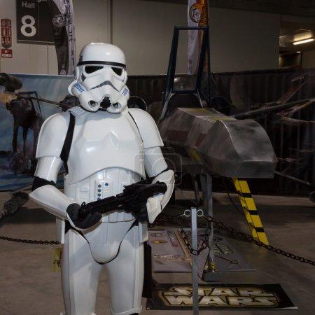 Stormtrooper at Cartoomics 2014 in Milan, Italy