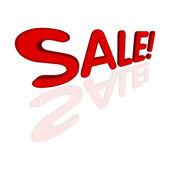 Prodej text ikony 3d
