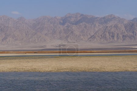 Salt lake near Eilat