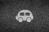 Car road and asphalt background texture with some fine grain in it of vector
