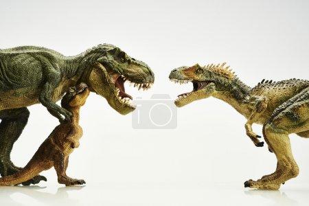 Photo pour Dinosaure d'action figure - image libre de droit