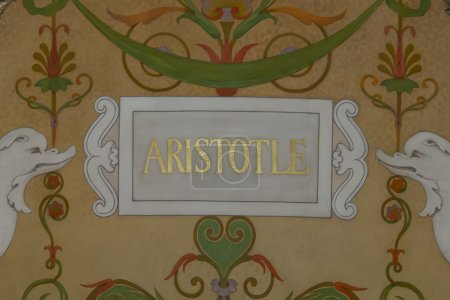 Aristotle name painting