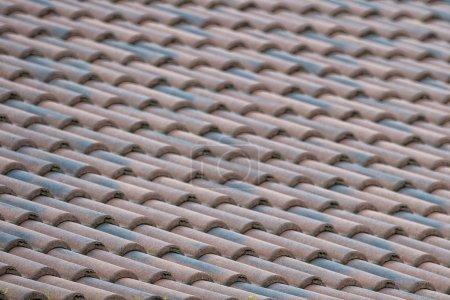 Photo pour Motif de fond de bardeaux toit texture - image libre de droit