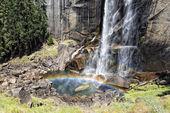 Yosemitský park spadá zobrazení