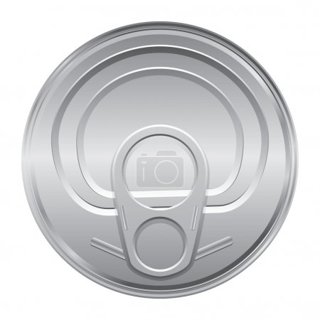 Lid of a tin
