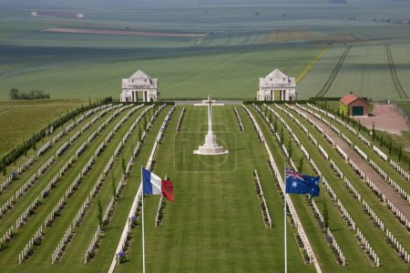 War Cemetery - The Somme - France