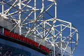 Manchester United Football Stadium in Manchester in England