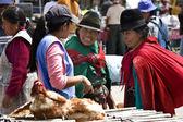 Ecuadorian women in Saquisili - Ecuador