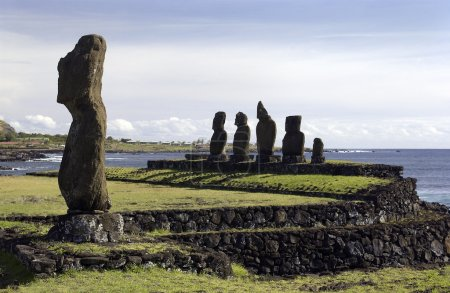 Moai - Easter Island - South Pacific