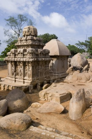 Panch Rathas - Mamallapuram - India