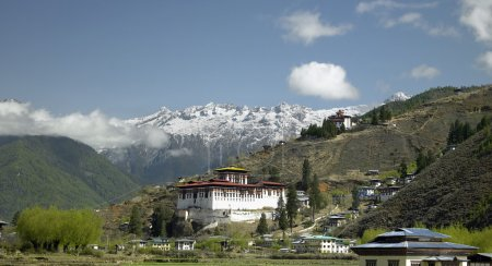 Paro Dzong - Kingdom of Bhutan