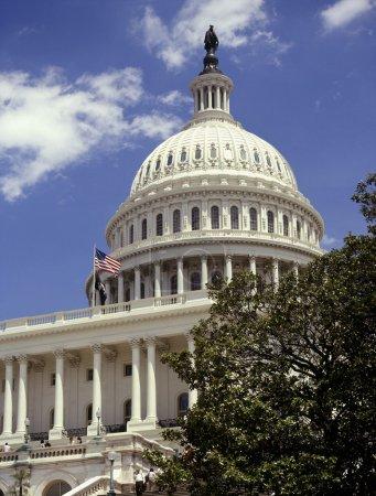 Photo pour Le Capitole à washington dc dans les États-Unis d'Amérique - image libre de droit