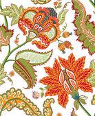 Vintage indian floral pattern