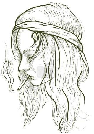 Hippie - Smoker