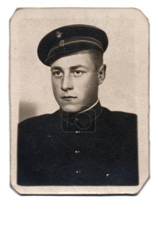 Portrait of an soldier