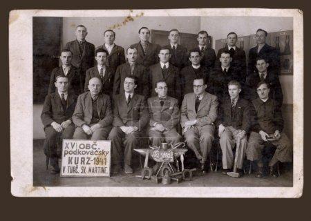 Old Classmates, friends - men