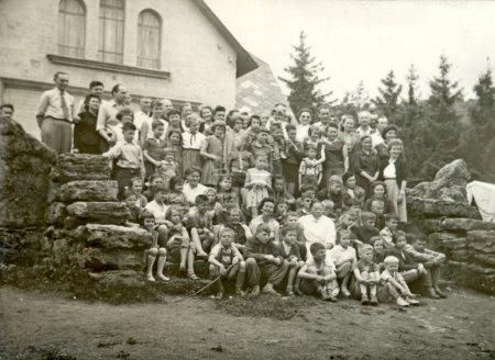 Classmates and their parents