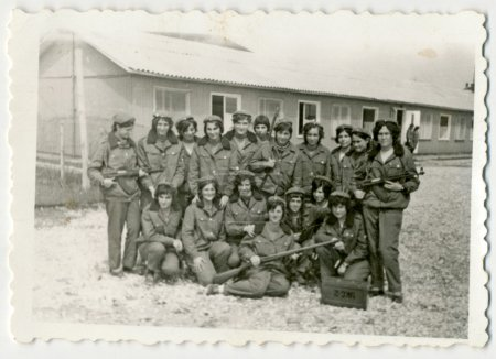 Women in military uniform