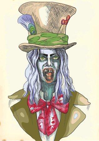 Portrait of an undead 9