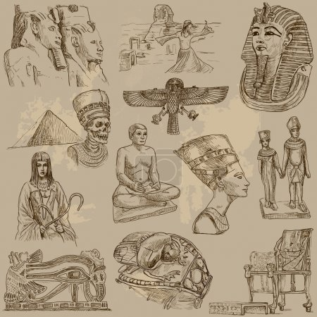 Traveling series: Ancient Egypt - collection of an...