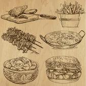 """Постер, картина, фотообои """"еда и напитки"""""""