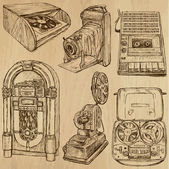 old objects no3 - hand drawn collection