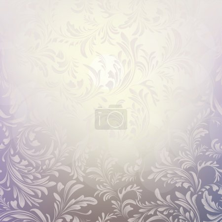 Abstract Christmas background with frosty pattern