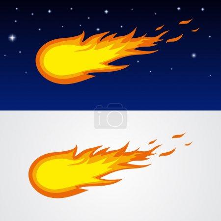 Comets caricature