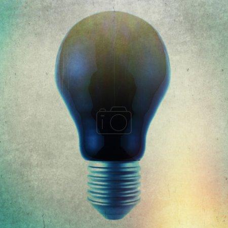 black light bulb 3d