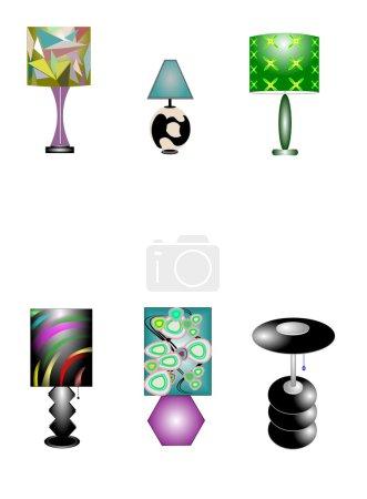 Retro style lamps