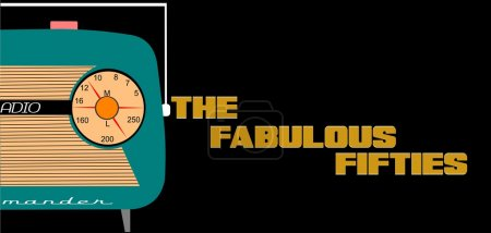 Fabulous fifties background