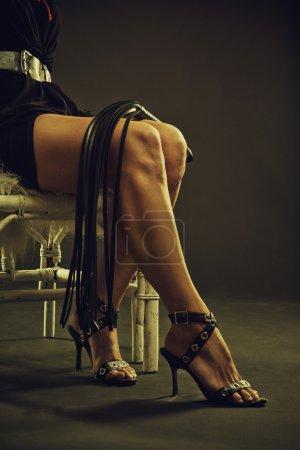 Legs of a mistress