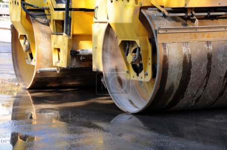 Heavy Vibration roller compactor