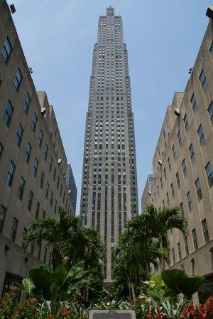 Photo pour Rockefeller Center Bâtiment GE à New York . - image libre de droit