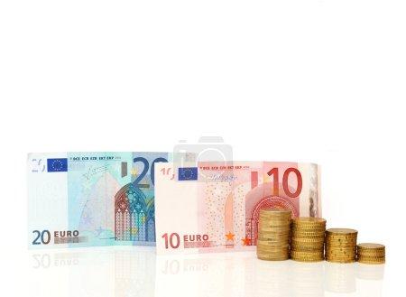 Photo pour Euro monnaie concept - image libre de droit