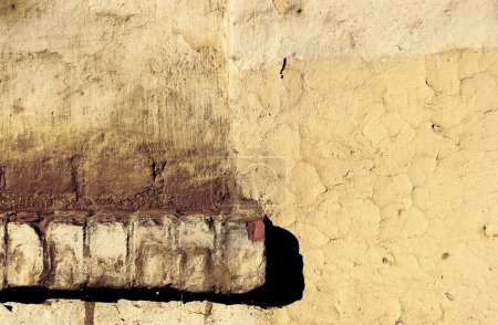 Texture of old stucco wall
